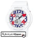 Yahoo!わっしょい村JAPANBGA-130TR-7BJF ベビーG BABY-G カシオ CASIO White Tricolor レディース 腕時計 LEDライト