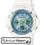 ショッピングShock G-SHOCK Gショック ジーショック カシオ CASIO 電波ソーラー 白 ホワイト AWG-M100SWG-7AJF メンズ 腕時計 国内正規品 送料無料 アスレジャー
