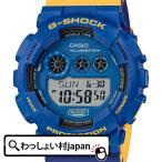 ショッピングShock G-SHOCK Gショック CASIO カシオ ジーショック ノーコンプライ ブルー イエロー ネイビー  GD-120NC-2JF メンズ 腕時計 国内正規品 送料無料