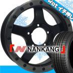 Black Diamond BDX05 スタッドレスタイヤ ホイールセット ジムニー ナンカン 175/80R16 16インチ