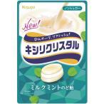 春日井製菓 キシリクリスタル ミルクミントのど飴 71g【6セット】ケース売り