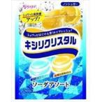 春日井製菓 キシリクリスタル ソーダアソートのど飴 67g【6セット】ケース売り