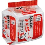 サトウ サトウのご飯コシヒカリ 5P【8セット】ケース売り