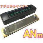 TOMBO(トンボ) 3521 ANm A ナチュラルマイナー プレミアム21 複音ハーモニカ 日本製 トレモロ ハーモニカ 樹脂ボディ Tremoro Tune Harmonica No.3521 楽器