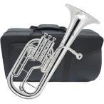 訳あり アルトホルン 3ピストン 銀メッキ 新品 楽器 本体 E♭ テナーホーン 管楽器 管理品番 シルバーアルトホルン アウトレット