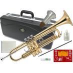 J Michael(Jマイケル) ゴールド トランペット 初心者セット 新品 楽器 練習用 おすすめ 管楽器 Jマイケル 本体 管理品番 TR-200 セット