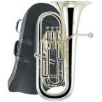J Michael(Jマイケル) 送料無料 4ピストン 銀メッキ ユーフォニアム EU-1700S 新品 楽器 本体 ケース付き 初心者 管楽器 【 EU1700S アウトレット 】