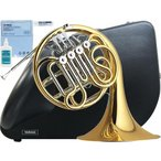 YAMAHA(ヤマハ) F/B♭ フルダブルホルン YHR-567 フレンチホルン 新品 4ロータリーバルブ ホルン 一体式 本体 マウスピース HR-32C4 初心者 日本製 管楽器