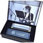 HOHNER(ホーナー) ボブディラン シグネイチャーモデル 10穴 C調 木製ボディ ブルースハープ 型 テンホールズ ハーモニカ 楽器 Bob Dylan SIG.