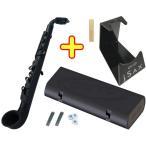 NUVO(ヌーボ) マウスピースパッチプレゼント☆ jSAX プラスチック リード 楽器 アルト サックス 初心者 ホワイト ブラック ピンク ブルー グリーン N510