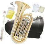 PRESON PRB-103 チューバ B♭ 4ピストン フロントアクション 3/4サイズ 管楽器 管体 ゴールド ピストンチューバ 小型 PRB103 CL 北海道/沖縄/離島/代引き不可