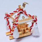 飾りミニ神輿 白(大サイズ)