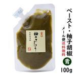 ペーストゆずこしょう 柚子胡椒 青 100g 1000円 ポッキリ ポイント消化 送料無料セール