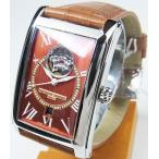 フレデリックコンスタント FREDERIQUE CONSTANT メンズ腕時計 ハートビート・デイト・限定500本 コニャックカラー FC-315CGC4C26 日本正規品