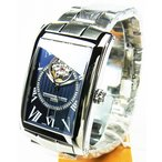 フレデリックコンスタント FREDERIQUE CONSTANT  メンズ腕時計 カレ・ハートビート・ネイビー FC-315DNS4C26B 日本正規品