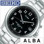 セイコー アルバ 時計 SEIKO 腕時計 ALBA メンズ レディース腕時計 ブラック AEFY501