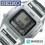 [6/9発売]セイコー ワイアード デジボーグ BEAMSプロデュース 時計 SEIKO 腕時計 WIRED メンズ グレー AGAM401