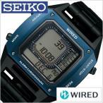 [6/9発売]セイコー ワイアード デジボーグ BEAMSプロデュース BASEL限定モデル 時計 SEIKO 腕時計 WIRED メンズ グレー AGAM701
