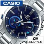 カシオ エディフィス スマートフォンリンク 時計 CASIO EDIFICE 腕時計 メンズ ブルー CASIO-EQB-700D-2AJF