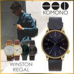 KOMONO 時計 コモノ 腕時計 KOMONO時計 コモノ 時計 ウィンストン リーガル WINSTON REGAL メンズ レディース ユニセックス
