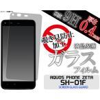 ガラスフィルム   AQUOS PHONE ZETA SH-01F用 覗き見防止液晶保護ガラスフィルム docomo アクオスフォン ゼータ SH01F