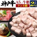 A5ランク 神戸牛 ケンネ脂 牛脂 2kg ブロック うま味 旨味 隠し味 肉料理 万能 用途色々 カット済み 兵庫県 黒毛和牛 ブランド牛