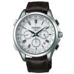 腕時計 セイコー DOLCE ドルチェ ソーラー電波時計 SADA039 ワールドタイム メンズ クロコダイル 正規品