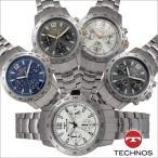 テクノス T7447 オールステンレスモデル クロノグラフ 腕時計 メンズ TECHNOS 正規品 アウトレット