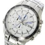 カシオ CASIO エディフィス EDIFICE クロノ クオーツ メンズ 腕時計 EF-545D-7AV ホワイト