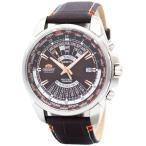 オリエント ORIENT 腕時計 海外モデル AUTOMATIC MULTI YEAR CALENDAR WORLD TIME オートマチック 万年カレンダー EU0B004T メンズ