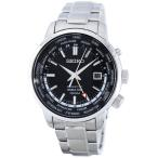 セイコー SEIKO 腕時計 海外モデル KINETIC WORLD TIME GMT キネティック ワールドタイム SUN069P1 メンズ