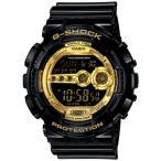 G-SHOCK CASIO カシオ【GD100GB1 GD100GB-1 【Gショック ジーショック 【ゴールド/ブラック 【メンズ 腕時計【[送料無料]