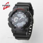 CASIO カシオ G-SHOCK【GA110-1A GA110【アナデジ 200M防水 オールブラック Gショック メンズ腕時計【[ラッピング/送料無料]