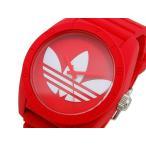 アディダス ADIDAS サンティアゴ クオーツ メンズ 腕時計 ADH6168 レッド