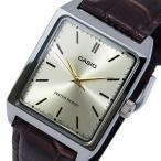 カシオ CASIO クオーツ メンズ 腕時計 MTP-V007L-9E シャンパンゴールド