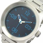 ニクソン NIXON 腕時計 メンズ A3462219 ブルー シルバー