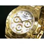 テクノス TECHNOS クロノグラフ 腕時計 TGM639GW
