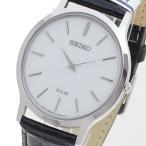 セイコー SEIKO 腕時計 メンズ SUP873P クオーツ ホワイト ブラック