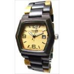 Tense テンス Wood Watch Mens Inlaid Multicolor w Date Window G8300DM LF Light Face 男性用 メンズ 腕時計
