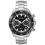 ブローバ Bulova 男性用 腕時計 メンズ ウォッチ クロノグラフ ブラック 98B228