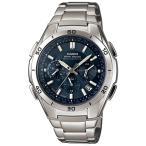 カシオ WAVE CEPTOR メンズ腕時計 ソーラー 電波 クロノグラフ WVQ-M410DE-2A2JF