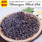 食用ヒマラヤ岩塩 ブラックソルトミル用小粒タイプ800g 安心・安全な国内規格検査済み ブラック岩塩 BBQに 送料無料