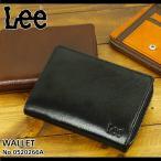 Lee(リー) ブック型二つ折り財布 小銭入れあり ハーフウォレット 札入れ 0520266A メンズ