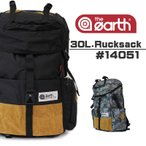 the earth(ジアース) 被せリュック リュックサック デイパック バックパック 30L 14051 送料無料