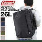 Coleman(コールマン) ATLAS(アトラス) 3WAYビジネスバッグ ブリーフケース ショルダーバッグ リュック ATLAS ATLAS MISSION A3 送料無料