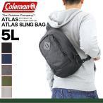 Coleman(コールマン) ATLAS(アトラス) ATLAS SLING BAG(アトラススリングバッグ) ボディバッグ ワンショルダーバッグ 5L タブレット収納 メンズ レディース