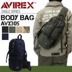 AVIREX アヴィレックス ボディバッグ メンズ 斜めがけ