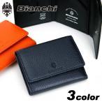Bianchi(ビアンキ) DEFI(ディフィー) 三つ折り財布 小銭入れあり 財布 さいふ サイフ 小物 牛革 レザー BIC1003 メンズ 送料無料