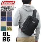 Coleman(コールマン) WALKER(ウォーカー) CROSS BODY(クロスボディ) ボディバッグ ワンショルダーバッグ 斜めがけバッグ