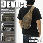 DEVICE(デバイス) Haze2(ヘイズ2)ボディバッグ ワンショルダーバッグ 斜め掛けバッグ DBH-31038 メンズ